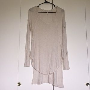 Free people long sleeve knit
